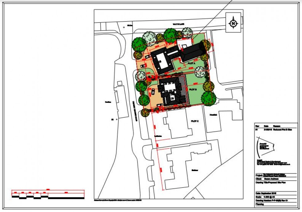 Floorplan for Development Opportunity With Planning Permission: Plot A - Cricket Ground Road, Chislehurst